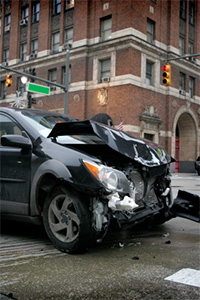 Image of an auto accident